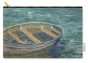 Green Sea My Boat And Me Carry-all Pouch
