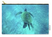 Green Sea Turtle 2 Carry-all Pouch
