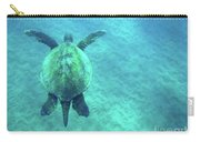 Green Sea Turtle 3 Carry-all Pouch
