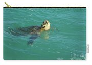 Green Sea Turtle 4 Carry-all Pouch