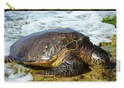 Green Sea Turtle Of Hawaii Carry-all Pouch
