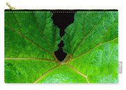 Green Spider Leaf Carry-all Pouch
