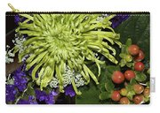 Green Spider Mum Carry-all Pouch