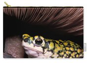 Green Toad Carry-all Pouch