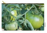Green Tomato On The Vine Carry-all Pouch
