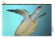 Green Turtle Swimming, Sabah, Malaysia Carry-all Pouch