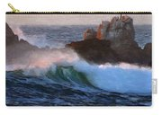 Green Waves Pastel Carry-all Pouch