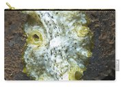 Green, White And Brown Flatworm, Bali Carry-all Pouch