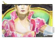 Greta Garbo Carry-all Pouch