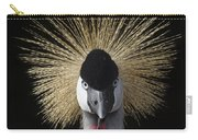 Grey Crowned Crane Balearica Regulorum Carry-all Pouch