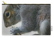 Grey Squirrel Dining Out Carry-all Pouch