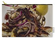 Griiled Fresh Greek Octopus Carry-all Pouch by David Smith