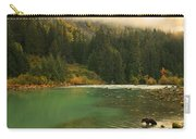 Grizzly Bear Fishing In Chilkoot River Carry-all Pouch