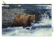 Grizzly Bear Fishing Carry-all Pouch