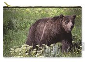 Grizzly Bear In Yellowstone Neg.28 Carry-all Pouch