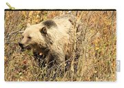 Grizzly In The Brush Carry-all Pouch