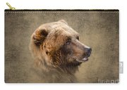 Grizzly Portrait Carry-all Pouch