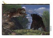 Grizzly Vs. Saber-tooth Carry-all Pouch