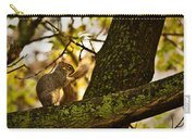 Grooming Grey Squirrel Carry-all Pouch