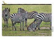 Group Of Barcodes Carry-all Pouch