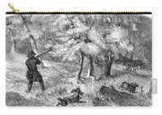 Grouse Hunting, 1855 Carry-all Pouch
