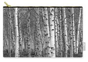 Grove Of Birch Trees Carry-all Pouch