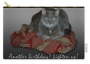 Grumpy Cat Birthday Card Carry-all Pouch