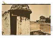 Guard Post Castillo San Felipe Del Morro San Juan Puerto Rico Rustic Carry-all Pouch