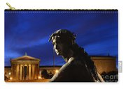 Guardian Angel Of Art Carry-all Pouch by Paul Ward