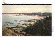 Guernsey - Rocquaine Bay - Channel Islands - England Carry-all Pouch
