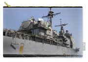 Guided Missile Cruiser Uss Bunker Hill Carry-all Pouch