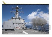 Guided-missile Destroyer Uss Pinckney Carry-all Pouch