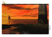 Guiding Light - Lighthouse Art Carry-all Pouch