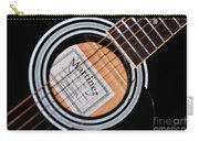 Guitar Abstract 1 Carry-all Pouch