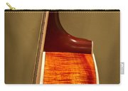 Guitar Wood Grain Exposed Carry-all Pouch