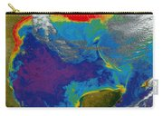 Gulf Of Mexico Dead Zone Carry-all Pouch by Science Source