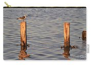 Gull At Sunset Carry-all Pouch