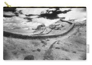 Hadrians Wall Carry-all Pouch by Simon Marsden