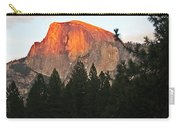 Half Dome Alpenglow Carry-all Pouch