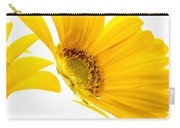 Half Yellow Gerbera Carry-all Pouch