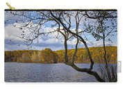 Hall Lake In Autumn No 0118 Carry-all Pouch