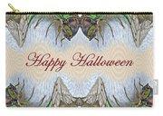 Halloween Fantasmagorical Cicada Card Carry-all Pouch