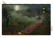 Halloween - One Hallows Eve Carry-all Pouch by Mike Savad