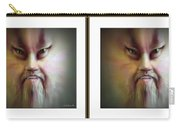 Halloween Self Portrait - Gently Cross Your Eyes And Focus On The Middle Image Carry-all Pouch