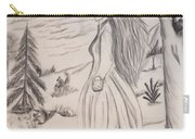 Halloween Witch Walk Carry-all Pouch