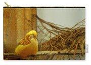 Halloween Yellow Bird Carry-all Pouch
