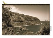 Hana Highway Sepia Carry-all Pouch