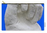 Hand In Snow Carry-all Pouch