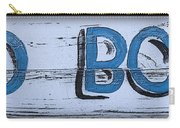 Hand Painted Old Bones Sign Carry-all Pouch