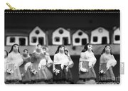Handpainted Figurines Carry-all Pouch